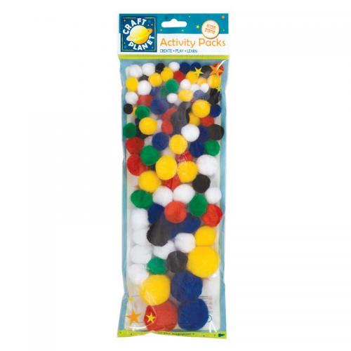 Craft Planet Pompoms (100pk)