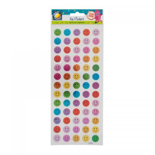 Craft Planet Fun Stickers - Happy Faces