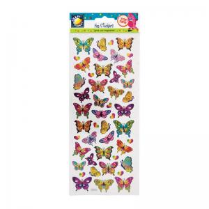 Craft Planet Fun Stickers - Butterflies