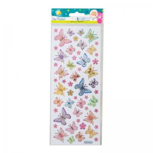 Craft Planet Fun Stickers - Butterflies & Flowers