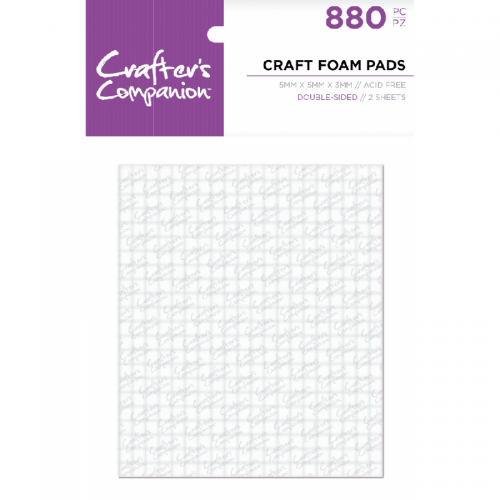 Crafter's Companion Foam Pads (5mm x 5mm x 3mm)
