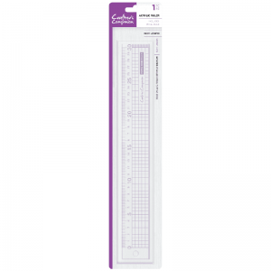 Crafter's Companion Metal Edge Acrylic Ruler (30cm)
