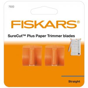 Fiskars SureCut Plus™ Trimmer Blades - Straight Cut (2 Pack)