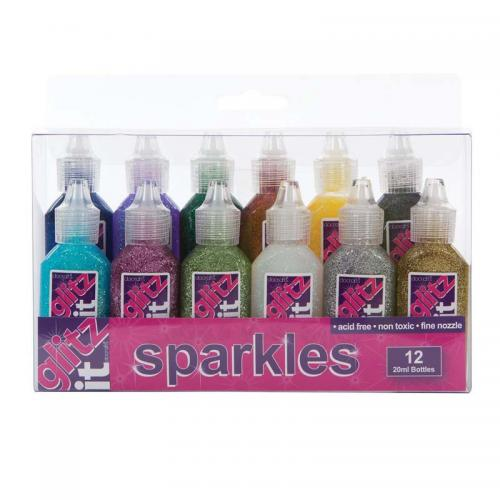 Glitz It Sparkles (12pk, 20ml) - Assorted