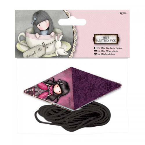 Gorjuss Mini Bunting Pack - Santoro
