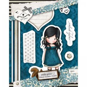Gorjuss Urban Stamp (7pcs)- You Brought Me Love