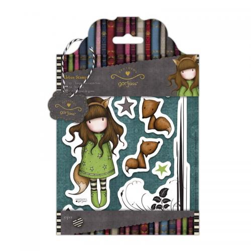 Gorjuss Urban Stamps (10pcs) - Simply Gorjuss - The Fox