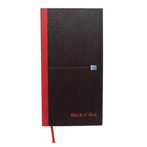 Oxford Black n'Red Matt Casebound Hardback 1/3 A3 Notebook