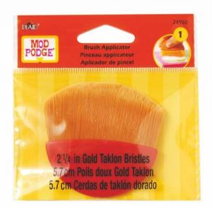 "Mod Podge 2 1/4"" Gold Taklon Brush"