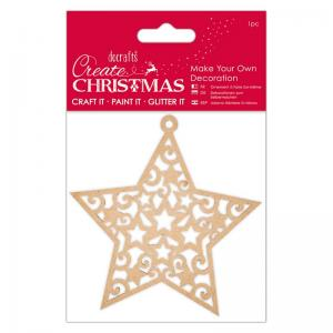 Create Christmas Make Your Own Decoration - Star