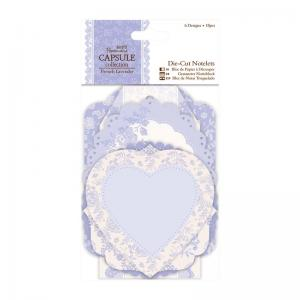Papermania Die-cut Notelets (18pcs) - French Lavender
