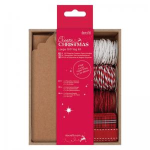 Create Christmas Large Gift Tag Kit