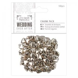 Papermania Charm Pack (100pcs) - Wedding