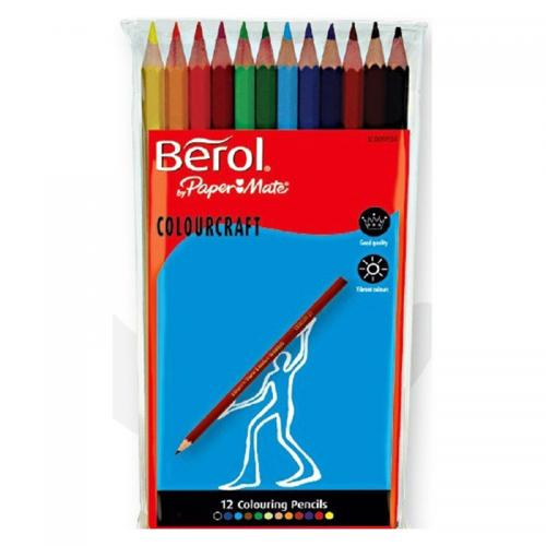 Berol Colourcraft Pencils Classpack (Assorted)