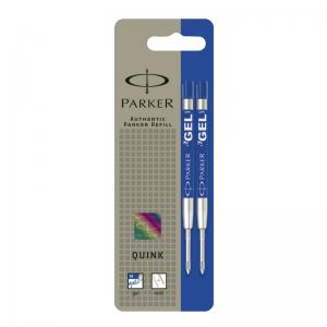 Parker Quink Gel Ball Pen Refill - Medium (Twin Pack)