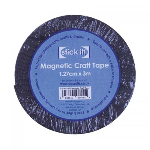 Stick It! 3m Magnetic Craft Tape (1.27cm Width)