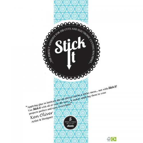 Stick It die-cut adhesive (5 sheets)