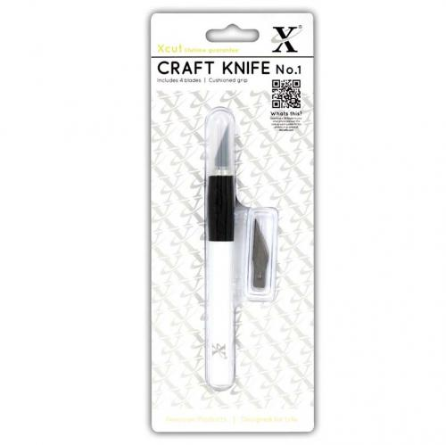 Xcut No. 1 Craft Knife (Kushgrip)