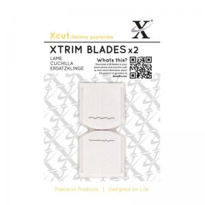"Xcut 13"" Xtrim Replacement Blades (2pcs) Deckle & Scallop"