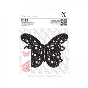 Xcut Dies (1pc) - Floral Filigree Butterfly