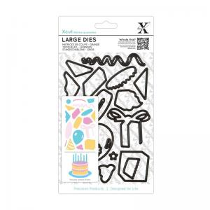Xcut Large Dies (19pcs) - Birthday Party