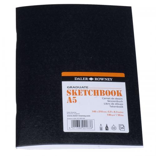 Daler-Rowney Graduate Softcover Sketchbook - Gloss