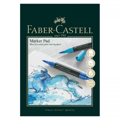 Faber-Castell Marker Pad - 50 Sheets (70gsm)