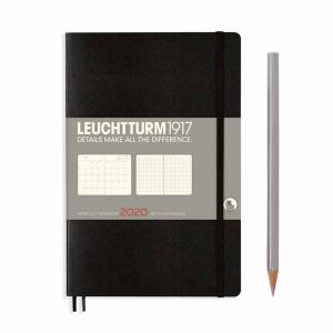 Leuchtturm 1917 Monthly Planner with Notebook (B6) 2020