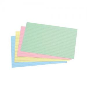 "5 Star Office Record Cards - Ruled 2 Sides - 127x76mm (5x3"")"