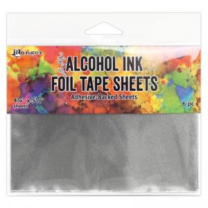 Ranger Tim Holtz Alcohol Ink Foil Tape Sheets 4.25 x 5.5""