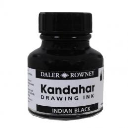 We hold a range indian inks in a range of sizes available only in black.