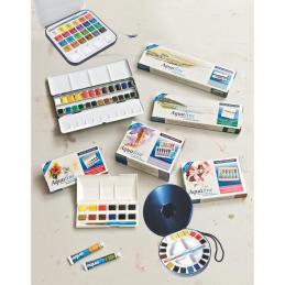 We hold a huge range of watercolour paints from Student quality to Artists' quality in a wide range of colours.