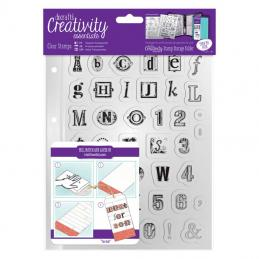 Stamps are very popular with our crafters.  We carry a wide range of stamps in different sizes and styles.