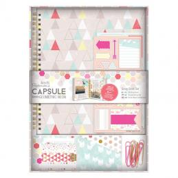 A range of notebooks and scrapbook sets are available to put your embellishments on or design to your own style.