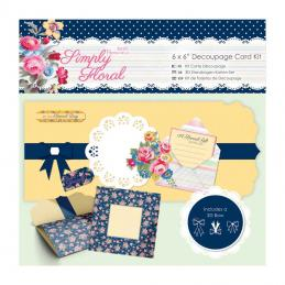 We stock a range of decoupage card kits which include all you need to make that perfect card.
