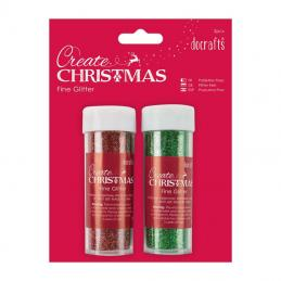 We do a range of Christmas fine glitter in red, green silver and gold.