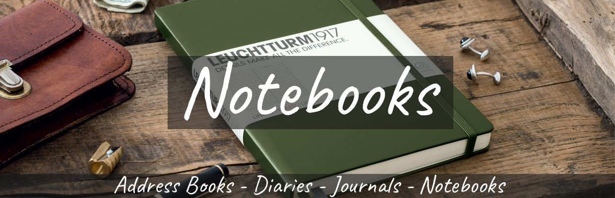 Notebooks Banner