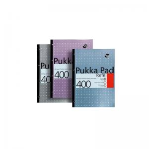 Pukka Pad Metallic Sidebound Refill Pad (400 Pages)