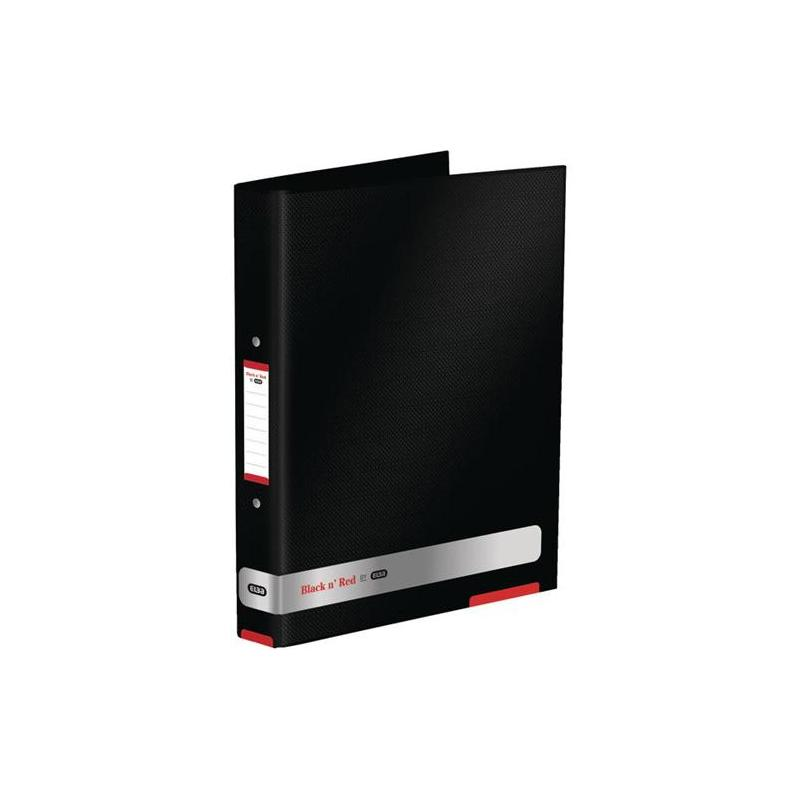 Elba Black n'Red Ring Binder