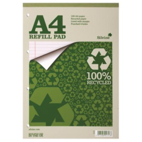 Silvine Everyday 100% Recycled Headbound Refill Pad