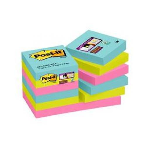 3M Post-it Super Sticky Notes - Miami