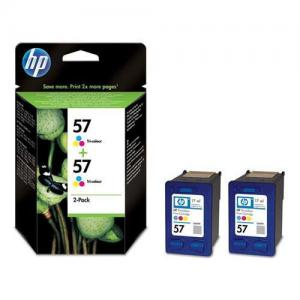 HP 57 Inkjet Cart Colour Pkd2 C9503AE
