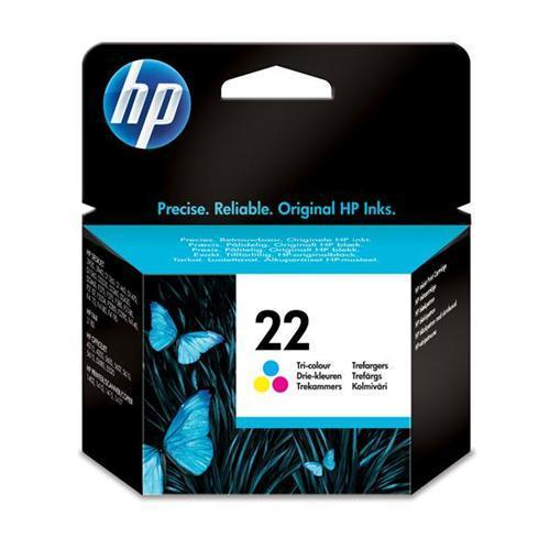 HP 22 Inkjet Cart Colour C9352AE
