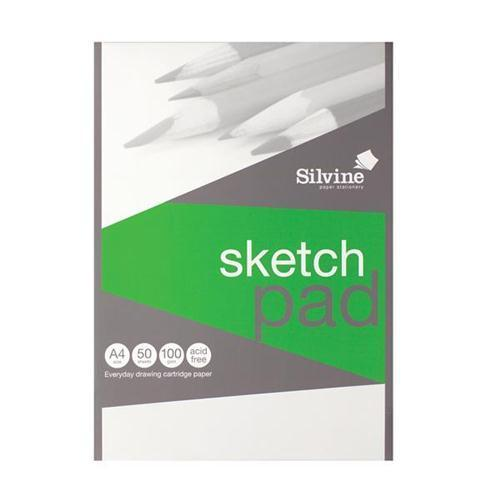 Silvine Drawing Pad