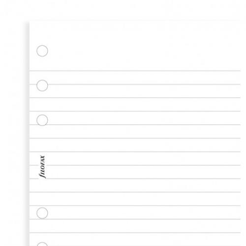 Filofax A4 Perforated Notepad White