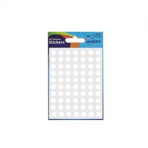 Avery Self Adhesive Stickers - Circle (624 labels per pack)