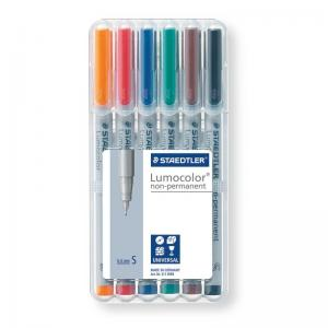 Staedtler Lumocolor Non-Permanent - Super Fine (Assorted Box)