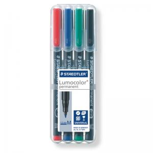 Staedtler Lumocolor Permanent Markers Medium Assorted Box