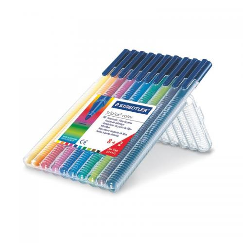 Staedtler Triplus Colour Assorted Desktop Box 10 pcs