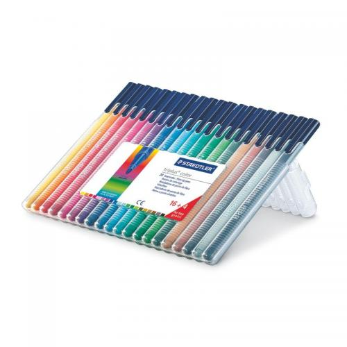 Staedtler Triplus Colour Assorted Desktop Box 20 pcs